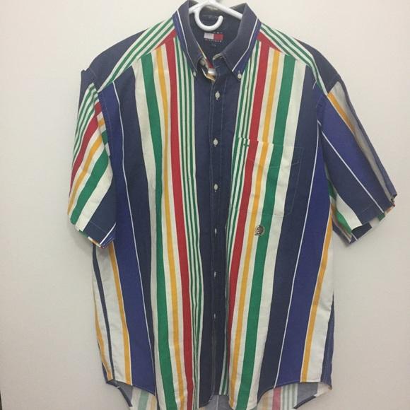 Vintage Oversized Tommy Hilfiger Button Up